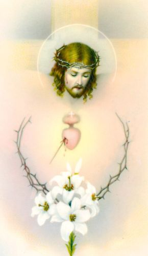 Passion of Christ Holy Card