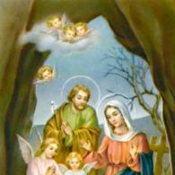 Christmas Novena Holy Card