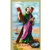 St Andrew Holy Card