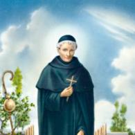 St Peregrine Holy Card